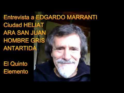 Entrevista a Edgardo Marranti: ANTARTIDA, Ciudad HELIAP, ARA San Juan, y Hombre Gris. # ANTARTIDA