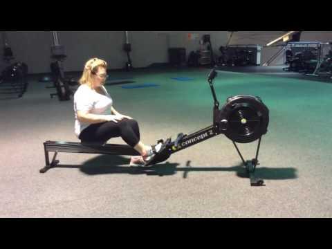 Alison Davies intro to rowing