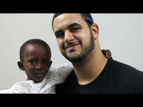 Oday Aboushi, NY-Jets offensive lineman, joins IMR in Sudan for It's SaveSmile Surgical Mission
