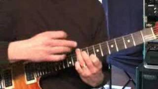Guitar Lessons Yes Starship Trooper (wurm outro)