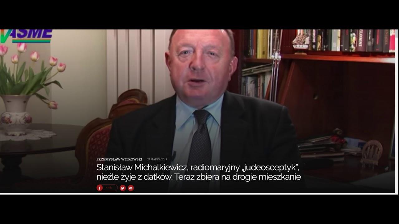 """Stanisław Michalkiewicz, radiomaryjny """"judeosceptyk"""", nieźle żyje z datków. Zbiera na mieszkanie"""