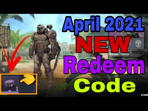 *NEW* April 2021 Redeem Code Cod Mobile Gerena   Codm Garena Redeemption Code 2021   Redeem Code Cod