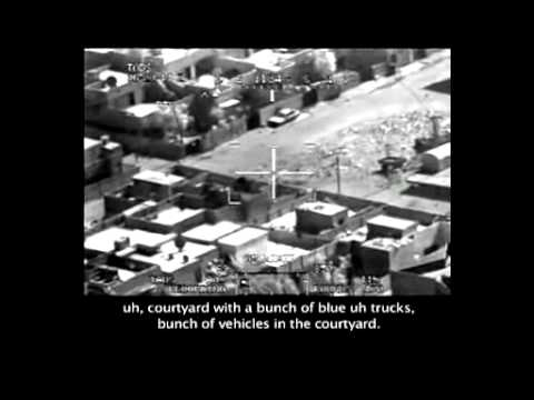 Iraq war : Wikileaks video : air strike in Baghdad : camera footage : Apache