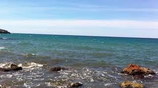 Испания, Салоу, ничего акромя моря