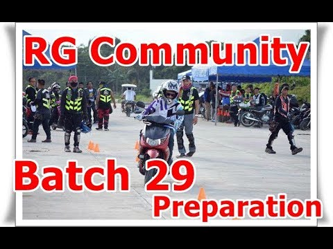 [MotoVlog 010] RG (Ride Guardians) Community Batch 29 Training - The Preparation