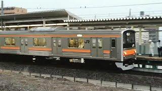 2017.6.30 武蔵野線205系M1編成