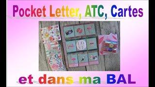 Pocket letter, ATC, cartes et dans ma BAL