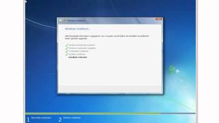 Cursus Windows 7 EXTRA: Windows Installeren
