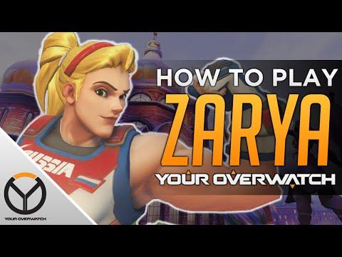 Overwatch Zarya Guide: Shield Timings & Playstyle Breakdown