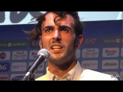 Marco Mengoni - Si è spento il sole - Casa Italia a Londra