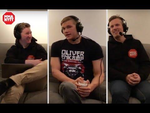 MMAnytt-podden #11 -  Oliver Enkamp gästar!