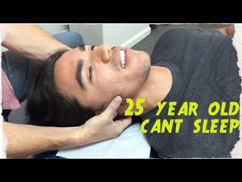 25 year hasn't SLEPT in 5 YEARS. Chiropractor Turns LIFE around.