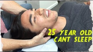 Download 25 year hasn't SLEPT in 5 YEARS. Chiropractor Turns LIFE around. Mp3 and Videos