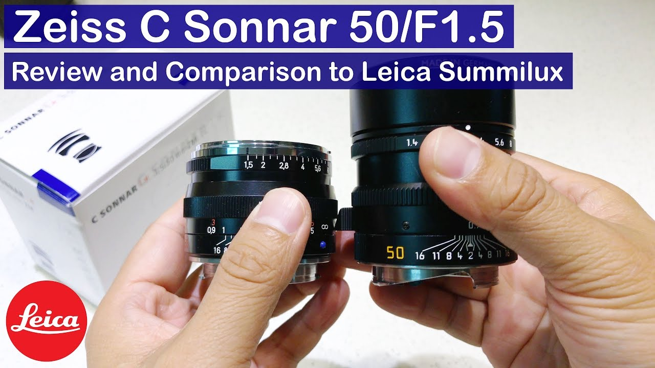 Zeiss ZM C Sonnar 50mm F 1 5 Review | Best budget fast 50mm on Leica?