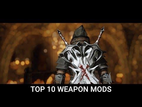 Skyrim - Top 10 Best Weapon Mods of 2019 (LE, SE)