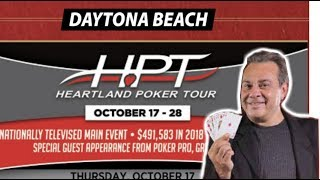 Heartland Poker Tour Daytona Beach Guide with Dom Niro