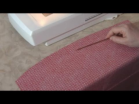 Teach Yourself to Sew: How to Sew a Double-Fold Hem