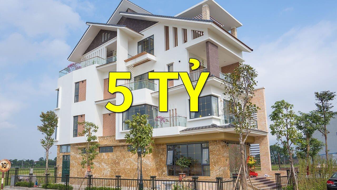 Khám Phá Thiết Kế Biệt Thự Kiểu Hiện Đại Đẹp 610m2 | Villa Ông Uyển – Hà Nội