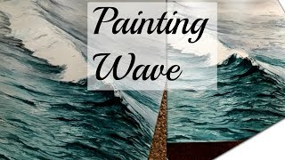 Beginners Watercolor Painting Tutorial        [ PAINTING WAVE ] Time Lapse