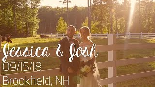 Tumbledown Farms, Brookfield, NH Wedding