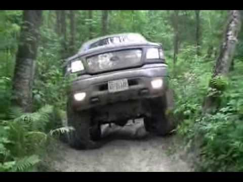 Lifted 2003 F150 King Ranch Wheeling - YouTube