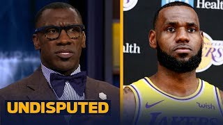 Skip and Shannon discuss how LeBron James has handled the LA media | NBA | UNDISPUTED