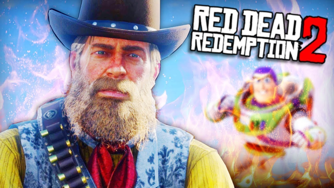 I'm a BAD Sheriff Woody in Red Dead Redemption 2
