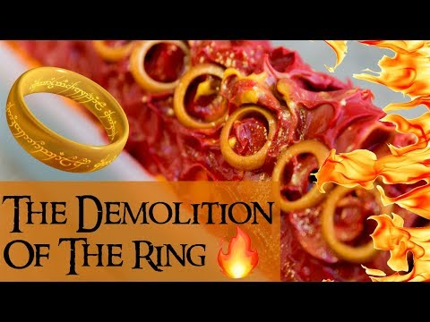 $100 Giveaway + The Demolition of the Ring LOTR Soap | #12DaysofSoapmas