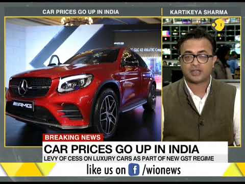 Car prices go up in India on GST cess hike