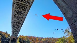 Craziest Rope Swing On the Planet