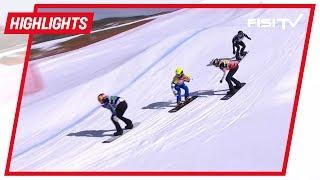 Michela Moioli 'accarezza' la Coppa di Snowboardcross