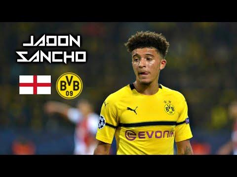Jadon Sancho 2018-2019 - Golden Boy - Dazzling Skills Show - Borussia Dortmund