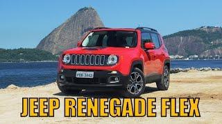 Jeep Renegade Longitude 1.8 Flex 2016 - Primeiras impressões