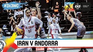 Iran v Andorra   Women's Full Game   FIBA 3x3 World Cup 2018