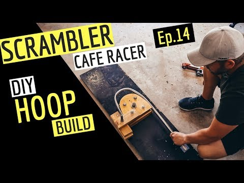 How to make a Cafe Racer / Scrambler HOOP from Scratch. After having no luck having a hoop made to the shape I wanted I decided to make my own, It was a ...
