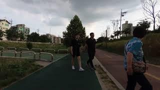 [4K] 불광천 - Walking along the Bulgwangcheon Stream, Seoul, Korea