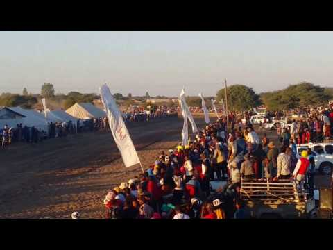 Namibian Horse Racing Ghanzi Show in Botswana. Law Enforcer from Namibia won 1400m