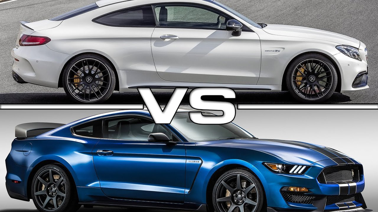 2017 mercedes amg c63 s coupe vs 2016 shelby mustang. Black Bedroom Furniture Sets. Home Design Ideas