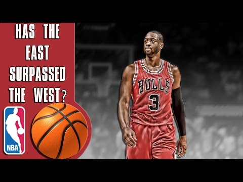 Has the Eastern conference finally surpassed the West in the NBA?
