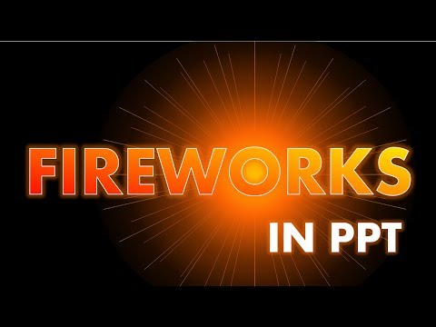 Fireworks in powerpoint cool powerpoint animation effect fireworks in powerpoint cool powerpoint animation effect tutorial toneelgroepblik Images