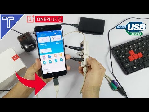 Does the OnePlus 5 support USB OTG?