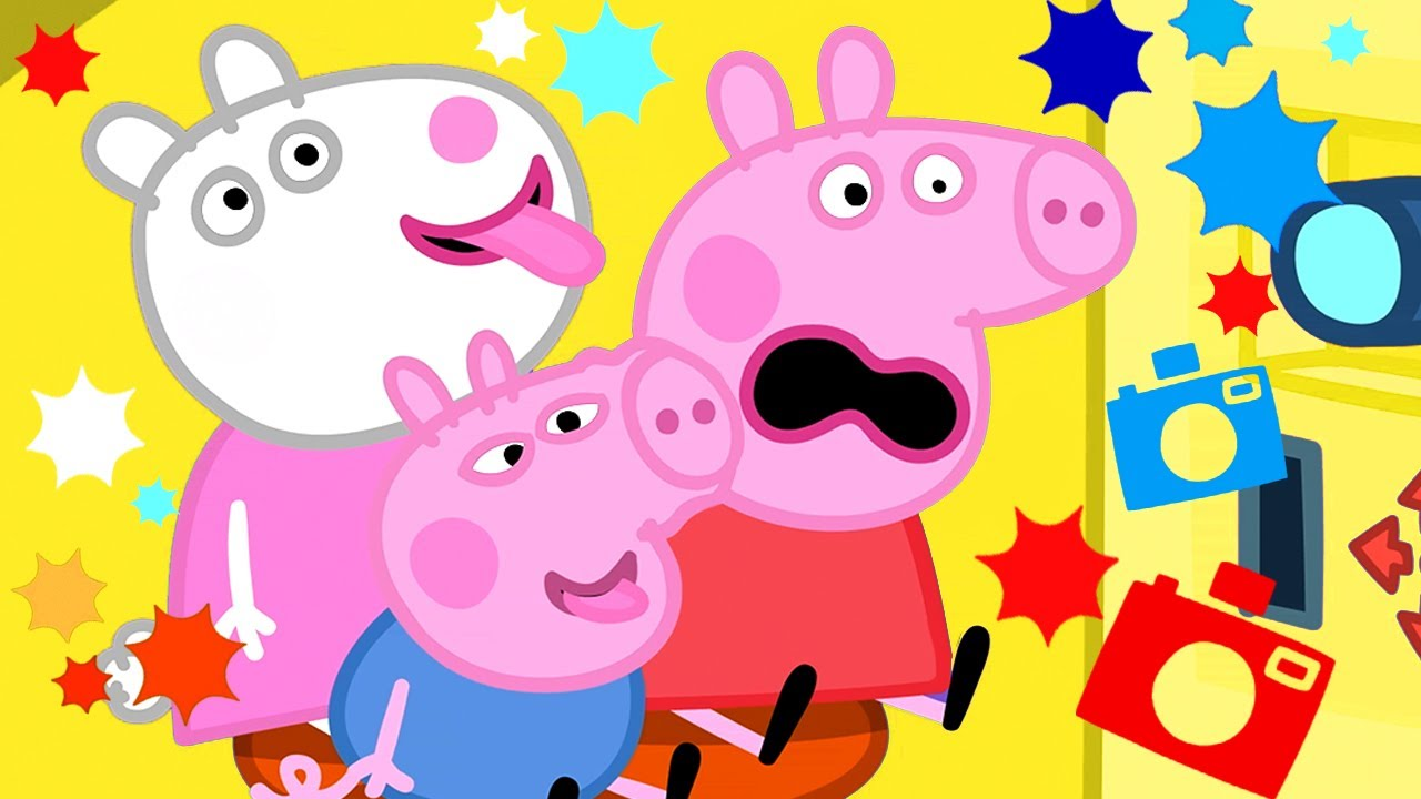 Peppa Pig Official Channel 🤳  Peppa Pig's Perfect Day in a Photo Booth