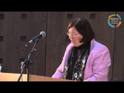 Utopian Studies Symposium 2013, Prof. Ruth Levitas