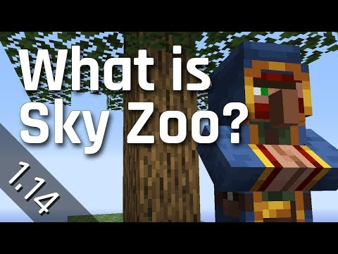 What is Sky Zoo? | Minecraft 1.14