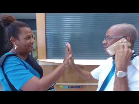 Mannequin challenge - Air Caraïbes