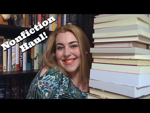 Who Says Nonfiction is Boring? | A Book Haul