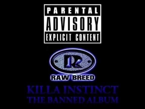 raw breed - killa instinct (South Bronx, NY 1996)