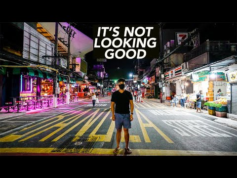 Walking Street In Phuket Thailand Is DEAD (COVID-19 Travels)