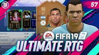 WE GOT 90 TEVEZ!!! ULTIMATE RTG - #57 - FIFA 19 Ultimate Team
