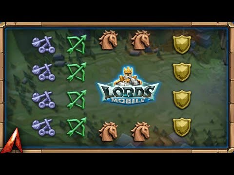 Explaining Squad Attacks And How They Work With Heroes! Lords Mobile